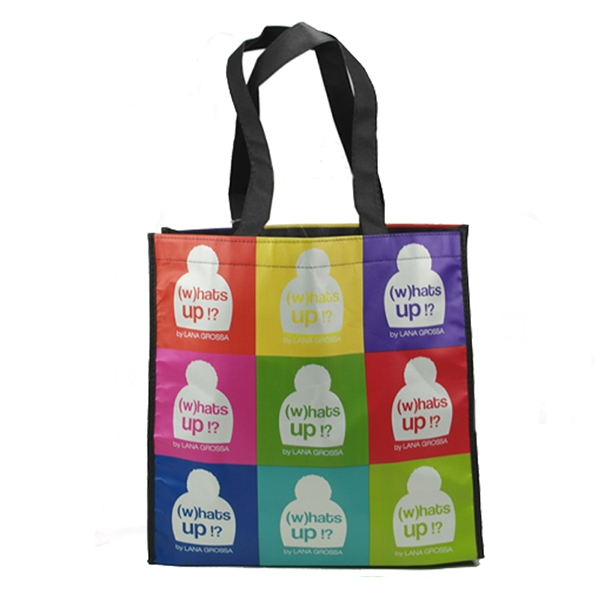 PP woven shopping bag Full color printing