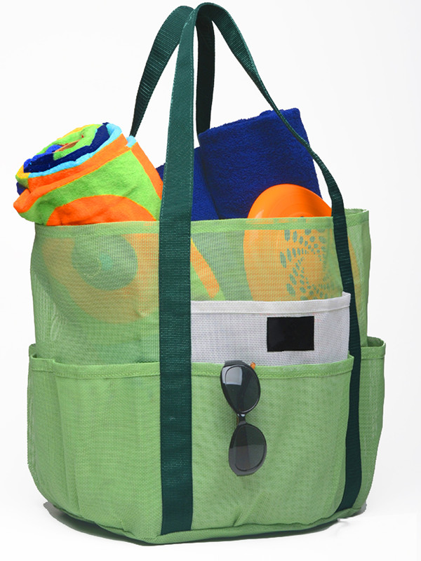 Mesh Beach Tote family use organizer bag - Beach bag
