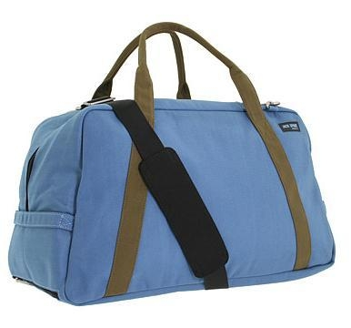 Spacious gym duffle bag