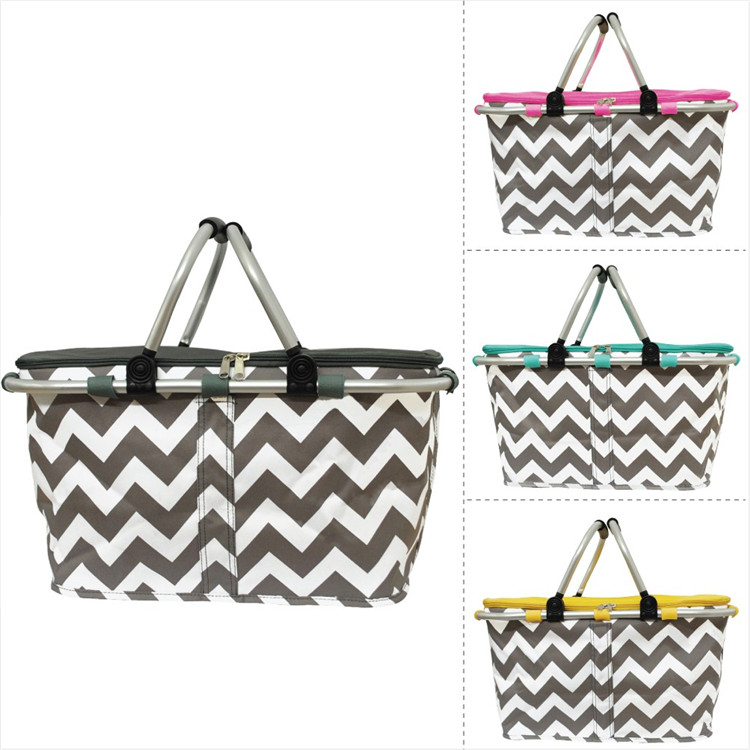 Chevron cooler basket
