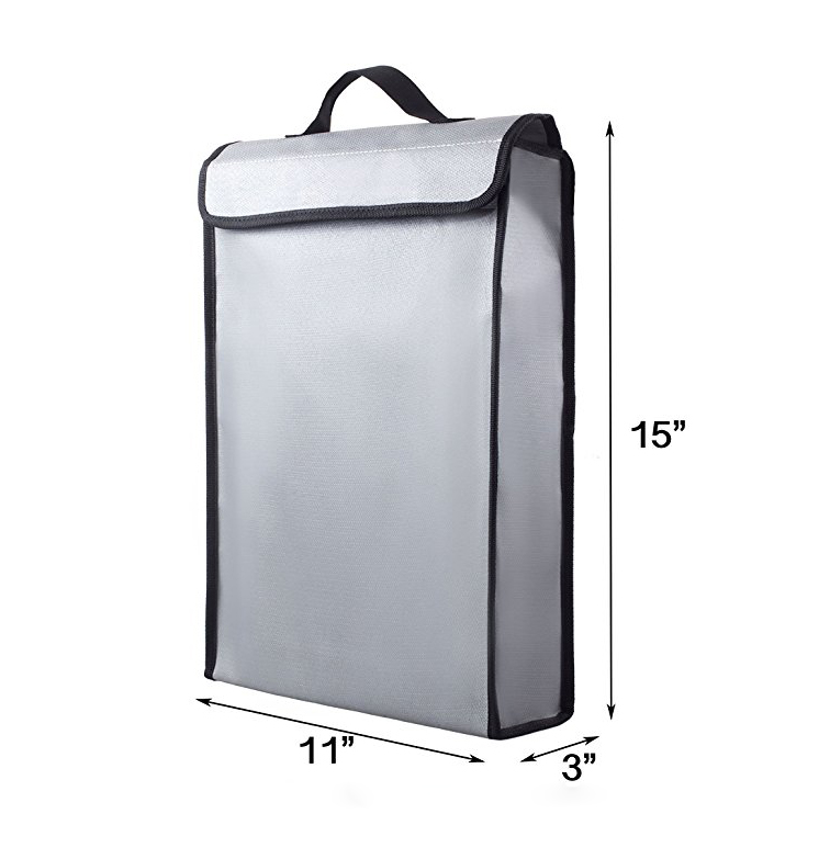 fireproof safe bag