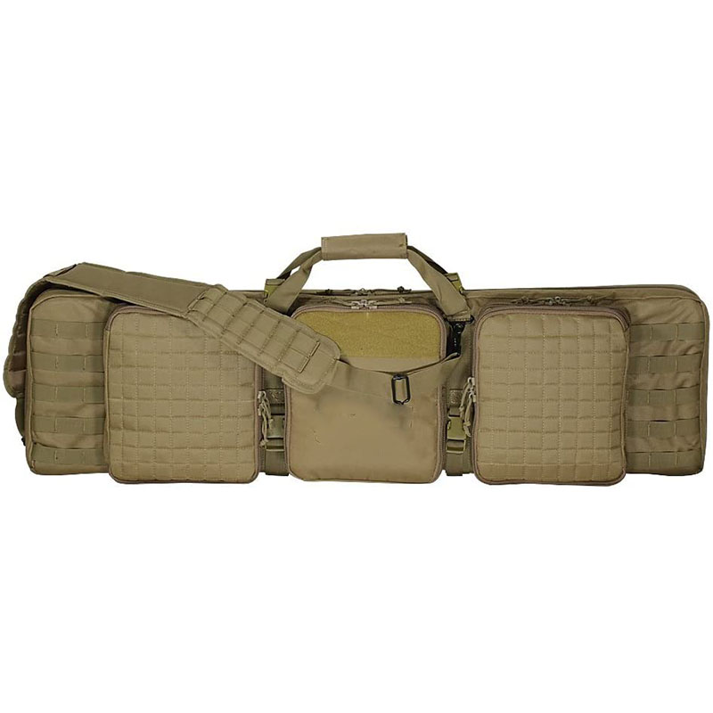 Tan Deluxe military gun bag