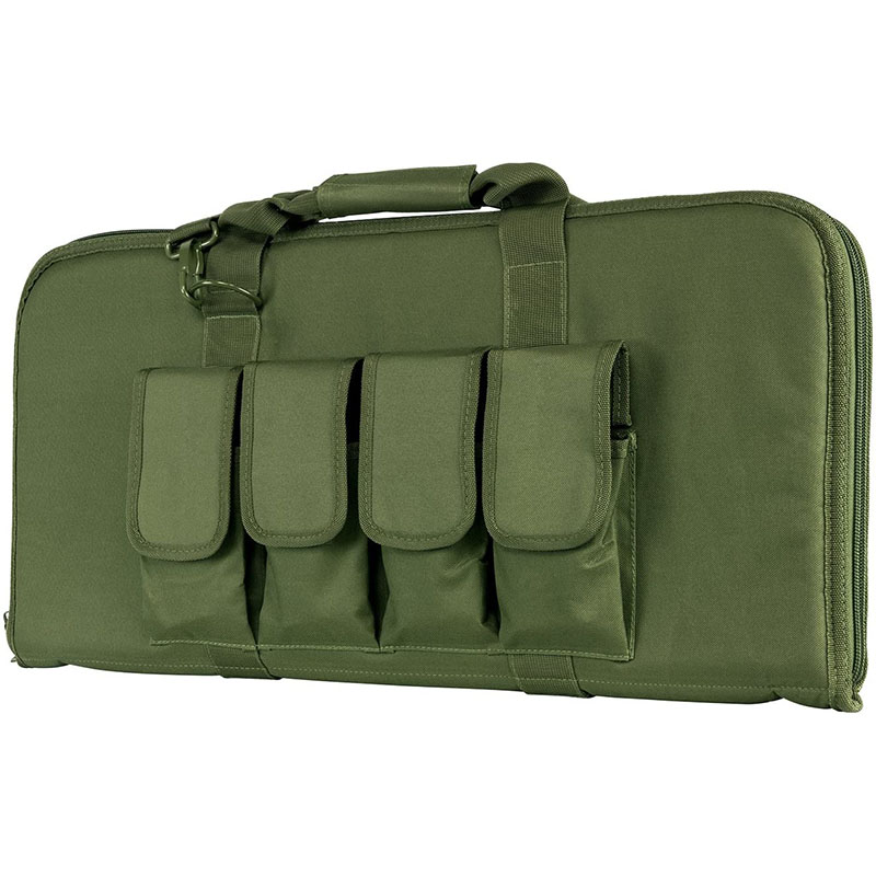Green Rectangular padded gun...